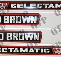 David Brown 770 Selectamatic Tractor Decal Set