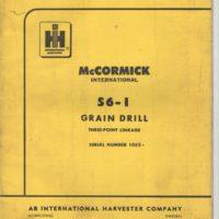 McCormick International S6-1 Drill Parts Catalogue