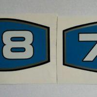 International 674 Tractor '78' HP Decal (Pair)