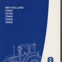 New Holland TD60-95D Tractor Operators Manual