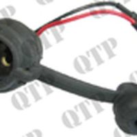 2 Pin Old Type Rubber Socket to suit Ford/IH