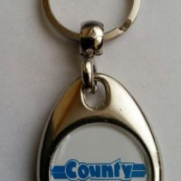 County Tractor Keyring