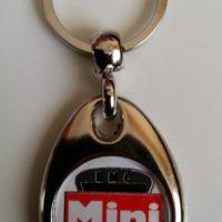BMC Mini Tractor Keyring