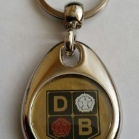 David Brown Tractor Keyring - Later Roses