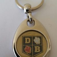 David Brown Tractor Keyring - Early Roses