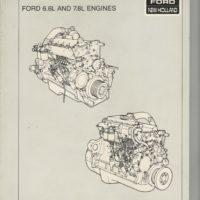 New Holland Ford 6.6L & 7.8L Engine Repair Manual
