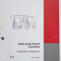 Case/IH 2366 Axial Flow Combine Operators Manual