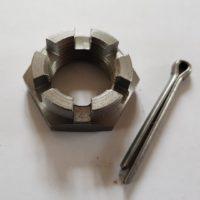 Votex PT Topper Mower Gearbox Castle Nut & Split Pin