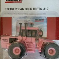 ERTL Case/IH Steiger Pink Panther IIi PTA-310 Tractor 1/64 Scale