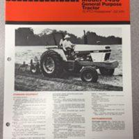 Case 1490 Tractor Sales Brochure