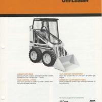 Case 1816C Uni-Loader Sales Brochure