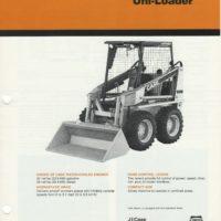 Case 1835B Uni-Loader Sales Brochure