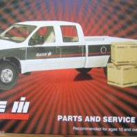 First Gear Case/IH Parts & Service Truck 1/34 Scale