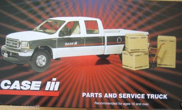 First Gear Case/IH Parts & Service Truck 1/34 Scale