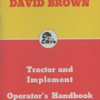 David Brown Tractor & Implement Operators Handbook