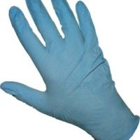 Blue Nitrile Gloves - Size Large (Box of 100)
