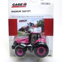 ERTL Case/IH Pink Magnum 340 Tractor with Duals 1/64 Scale