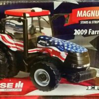 ERTL Case/IH Magnum 180 Tractor - Stars & Stripes 2009 Farm Show