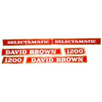 David Brown 1200 Tractor Decal Set