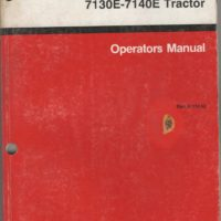 Case/IH 7130 7140 Magnum Tractor Operators Manual