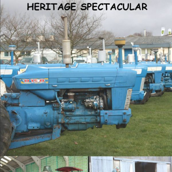 The First Eastern Counties Vintage Tractor &Heritage Spectacular DVD