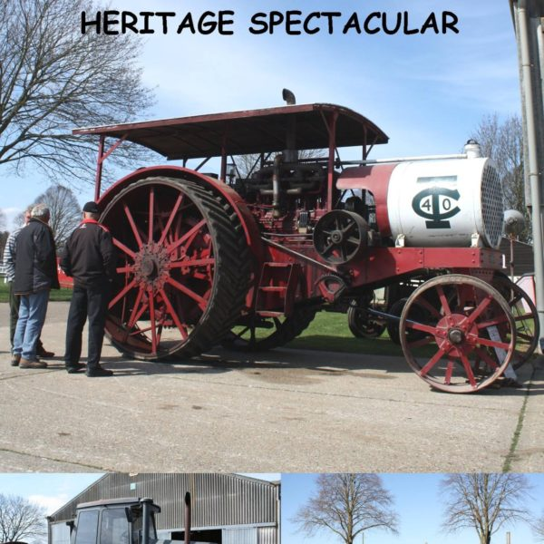The Second Eastern Counties Vintage Tractor &Heritage Spectacular DVD
