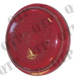 Butler Type Side Light Lens Red