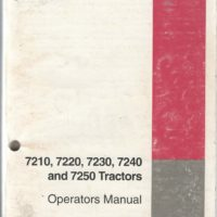 Case/IH 7200 Series Magnum Tractor Operators Manual