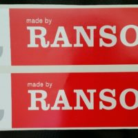 FR Ransomes Plough Decal - Pair