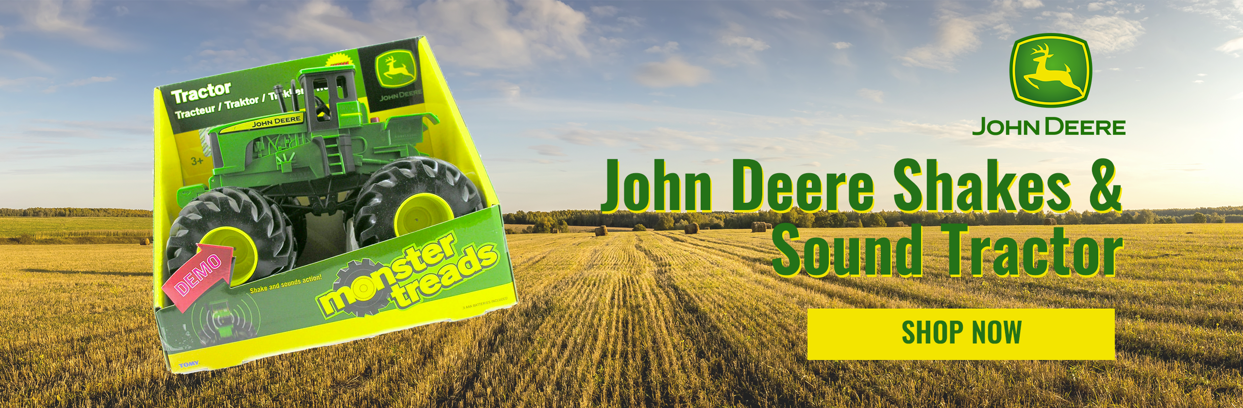 John Deere Shakes & Sound Tractor Promotion