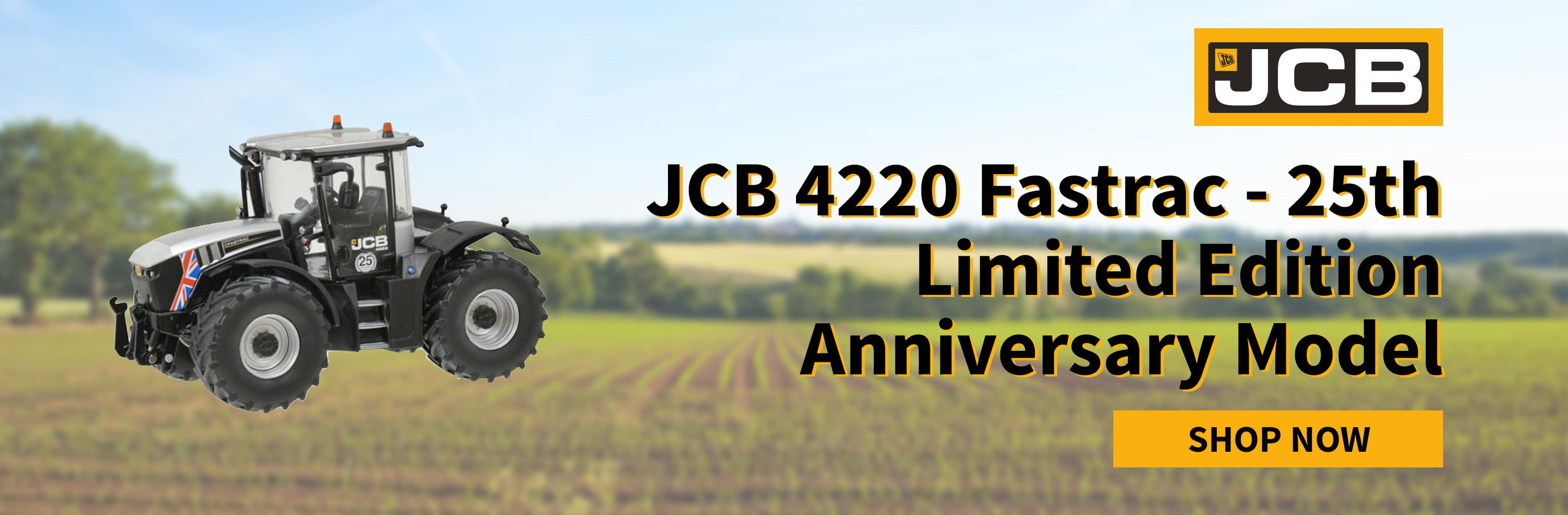 JCB 4220 Fastrac - 25th Limited Edition Anniversary Model available from SPS Parts